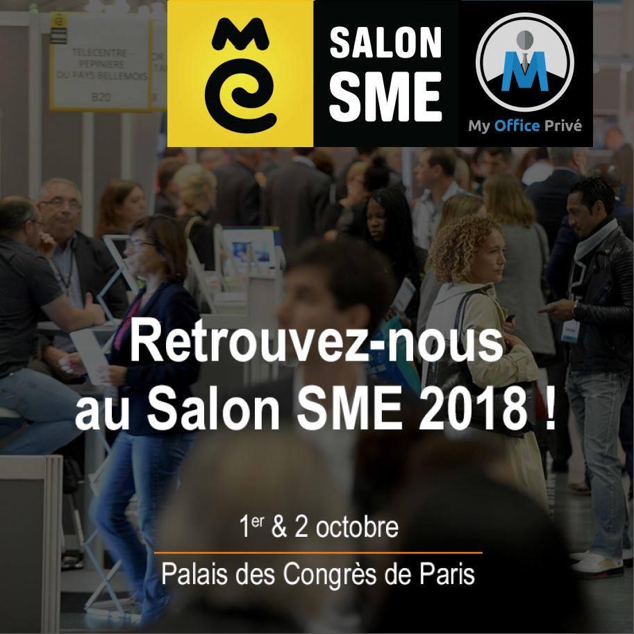 Le Salon SME ouvre ses portes du 1er et 2 octobre 2018 au Palais des Congrès de Paris
