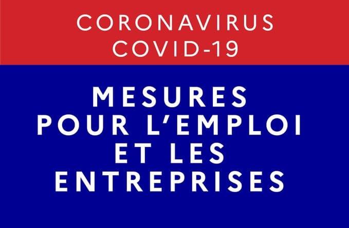 Mesures pour l'emploi et les entreprises
