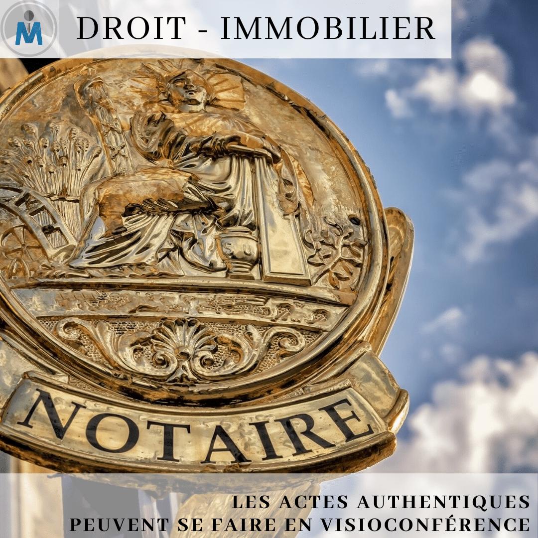 COVID-19 / Actes notariés